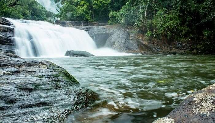 Thommankuthu Waterfalls View
