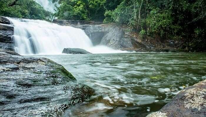 Thommankuthu Waterfalls View