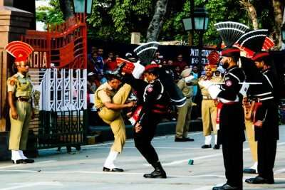 Wagah Border cover