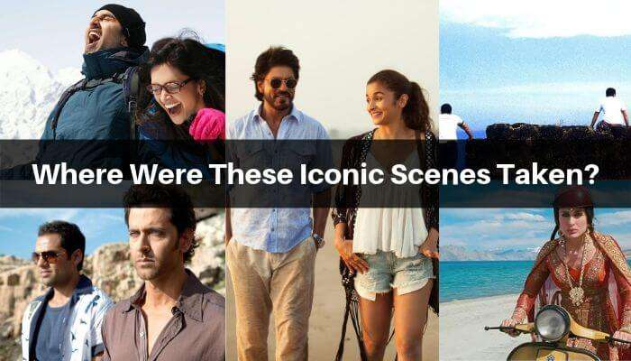 A collage of bollywood movies' stills