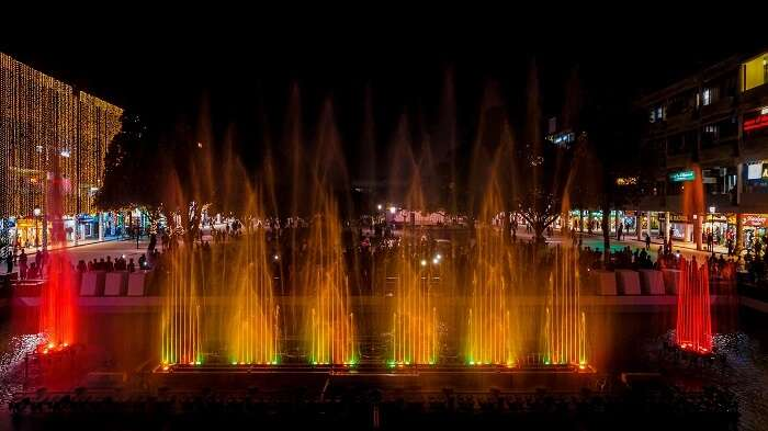 Witness The Musical Fountain