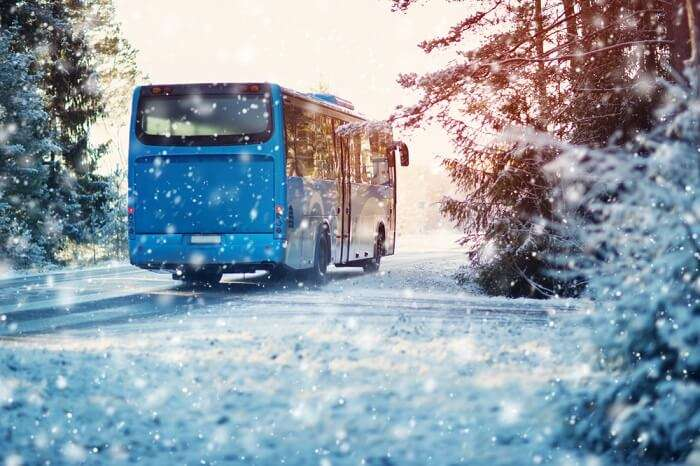 New Bus From Manali To Rohtang