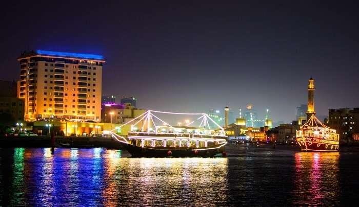 Dhow Cruise In Abu Dhabi
