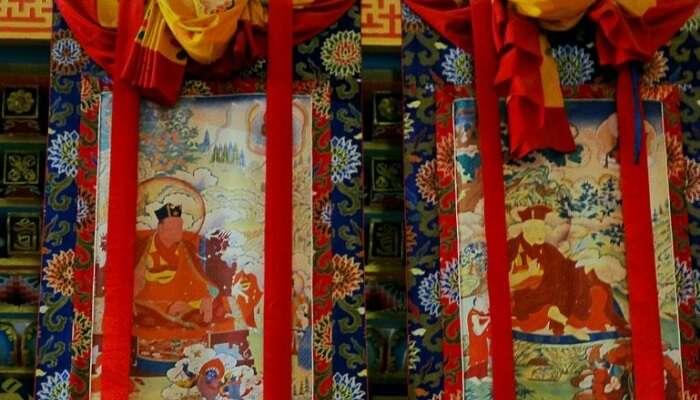 traditional Sikkimese scrolls