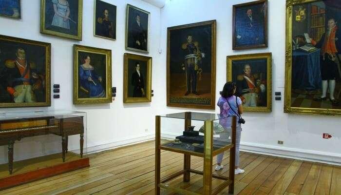 Admire Paintings At Arma Museum