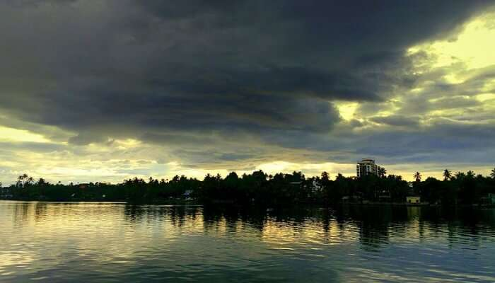 Ashtamudi Lake View