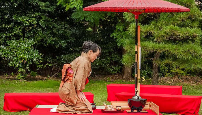 Attend A Tea Ceremony