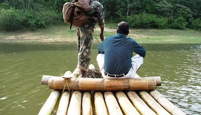 Bamboo Rafting In Kerala  13/11/2019