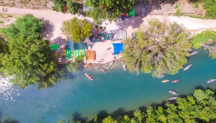 Barton Springs Creek