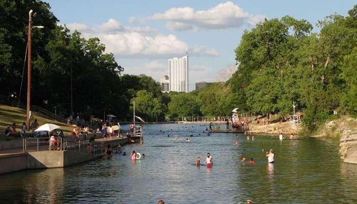 Springs Pool View
