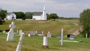 Batoche National Historic Site in Canada