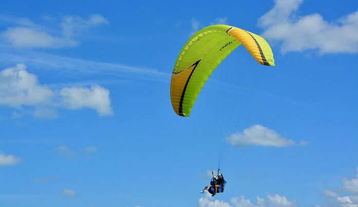 Best Time To Go Paragliding in Austin