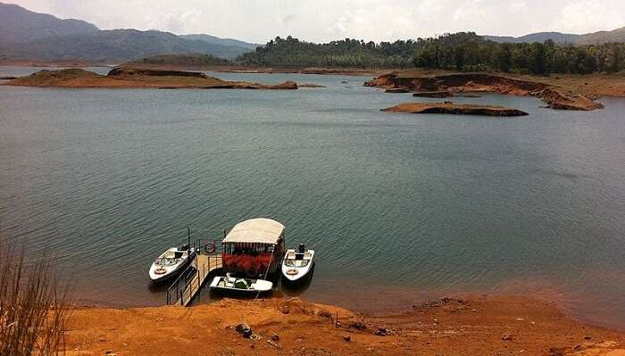 Boating At Banasura Sagar Dam  In Kerala