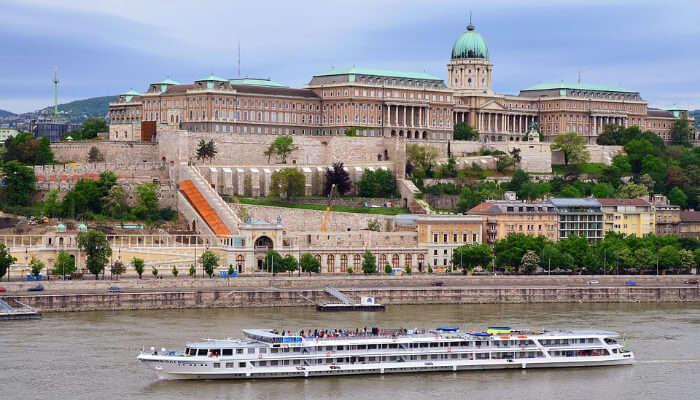 Buda Castle in the morning