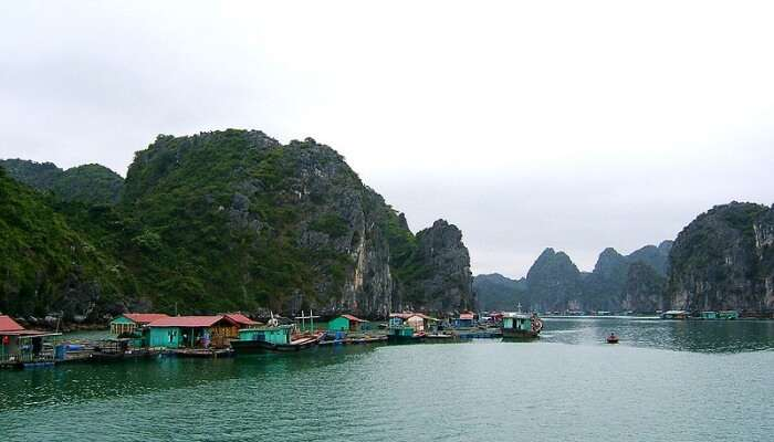 Cat Ba Island in Vietnam