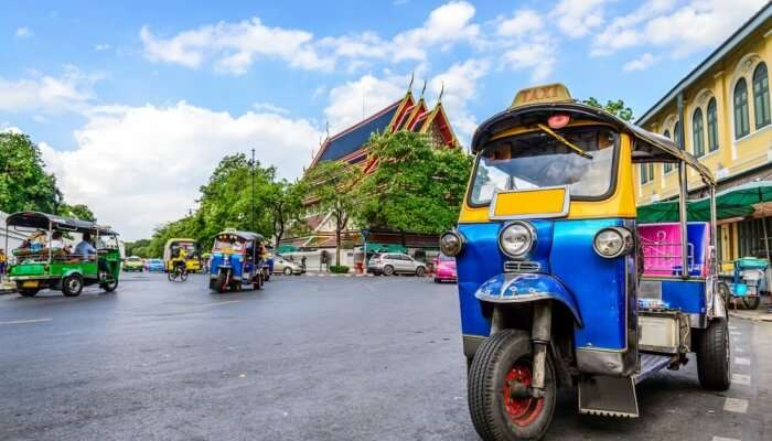 Awesome Bangkok Tuk Tuk Tours