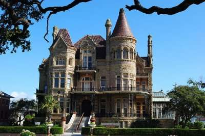 famous castle in Houston