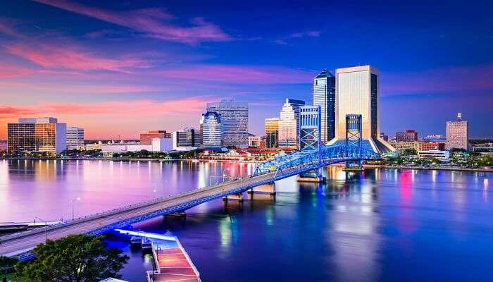 famous bridge in Jacksonville