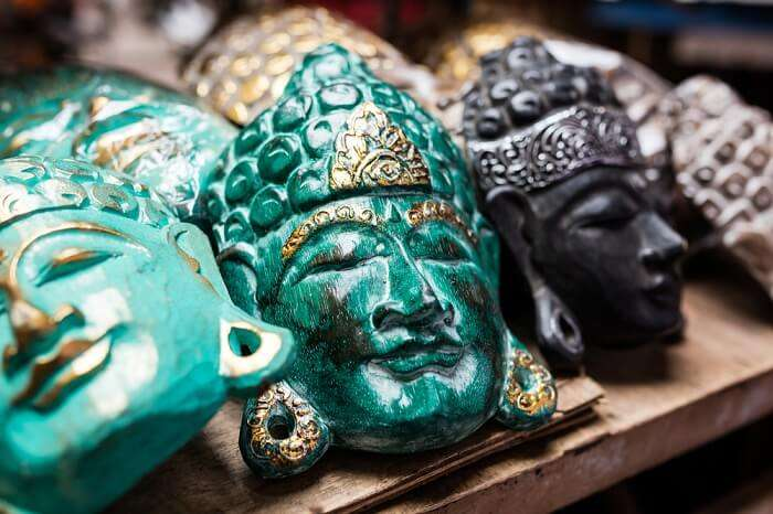 buddha face painting masks