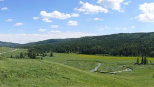 Cypress Hills in Canada
