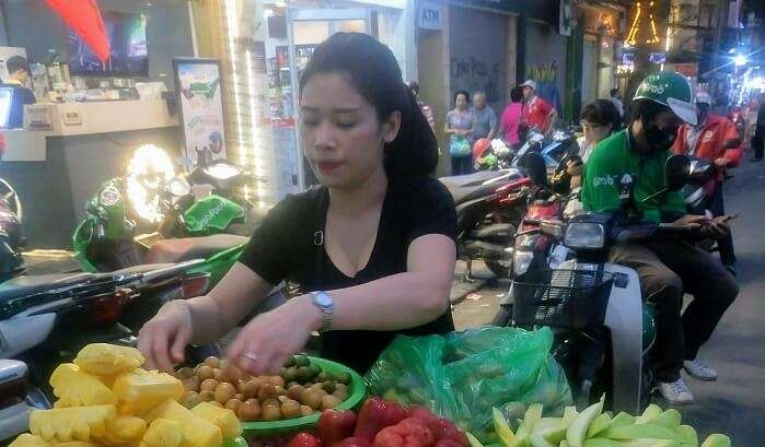 day to day life of a lady in in vietnam