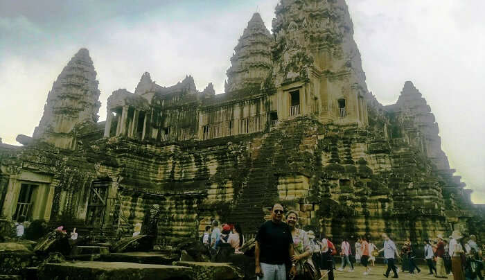 fascinated by the Angkor temples