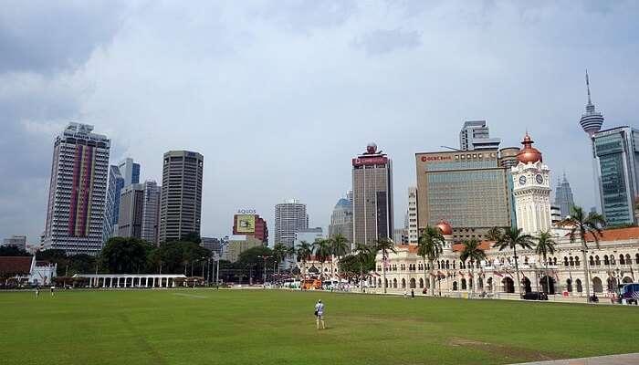 Dataran Merdeka in Malaysia