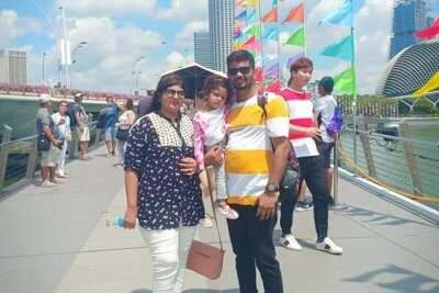 Deeksha Gowda Trip To Singapore