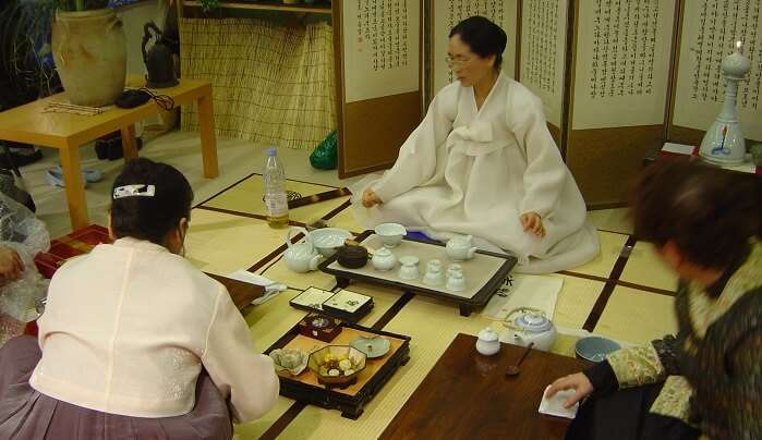 Engage In A Tea Ceremony