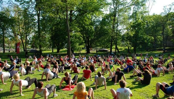 Events And Attractions In Lumpini Park