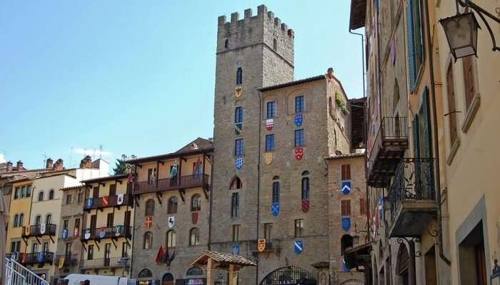Flea Market In Arezzo