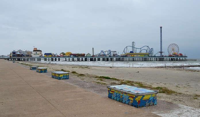 Galveston Island and the Pleasure Pier