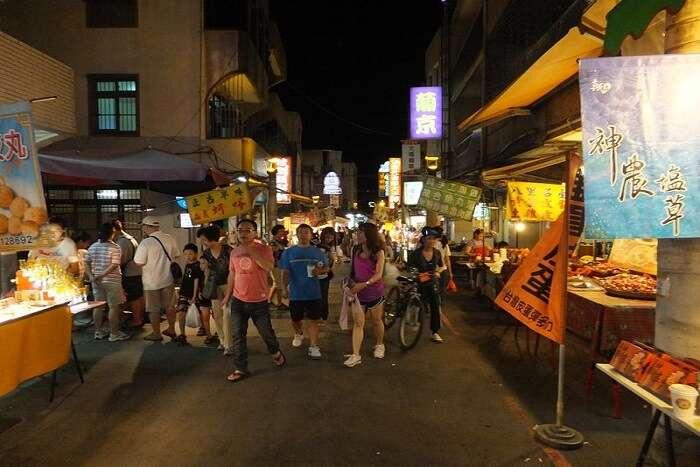night market in bali