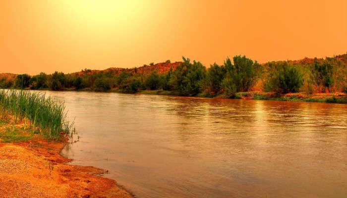 Gila River View