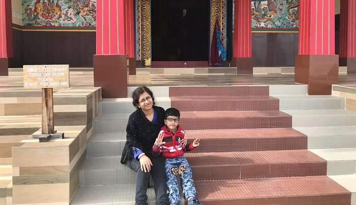 visited to the famous places of Tawang