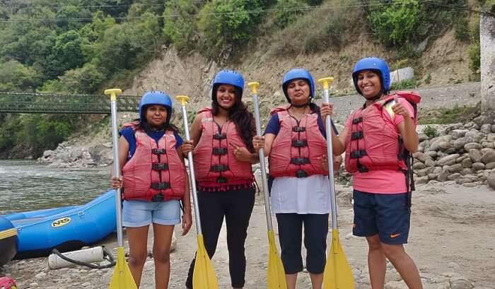 had also done river rafting