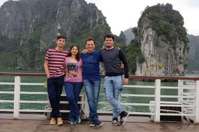 cover - Manish trip to Vietnam