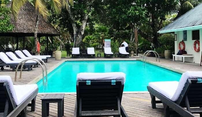 Relaxing in this resort