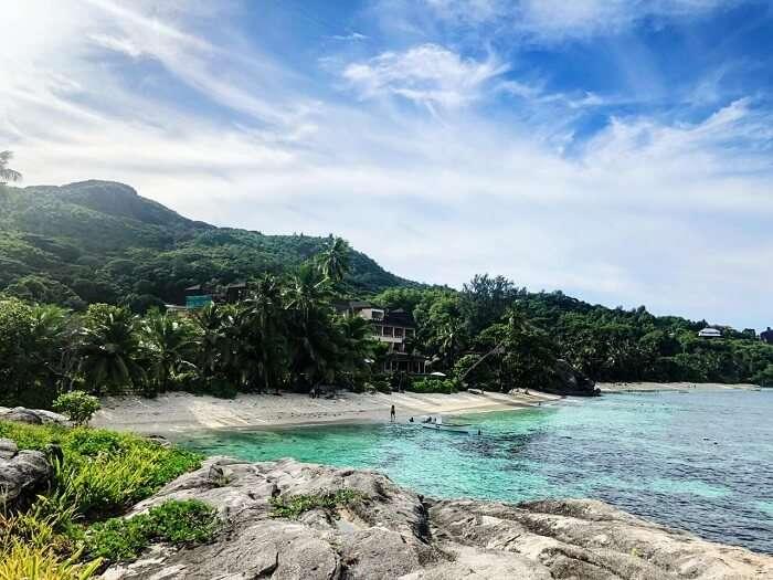 Astounding beauty of the island