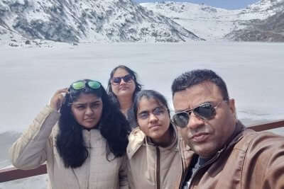 cover - Suma family trip to Sikkim