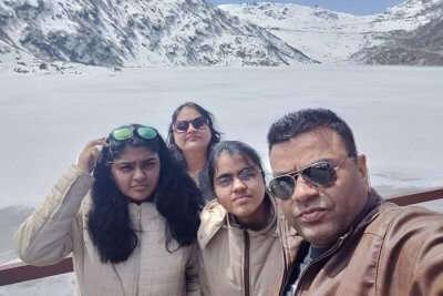 cover - Suma family trip to Sikkim