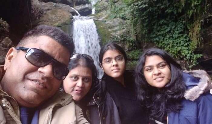 visit to the charming Banjhakri Falls