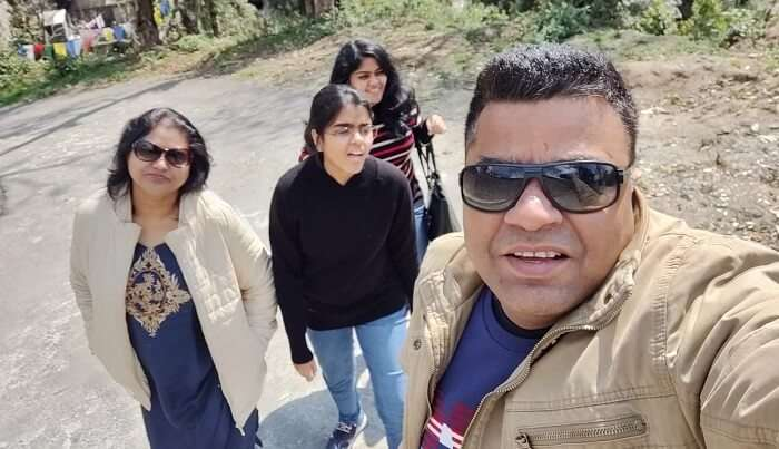 Visiting famous sightseeing spots in Sikkim