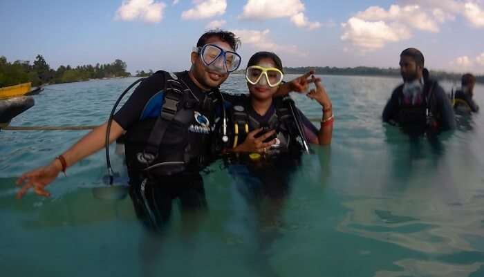 offering crazy experiences of water sports