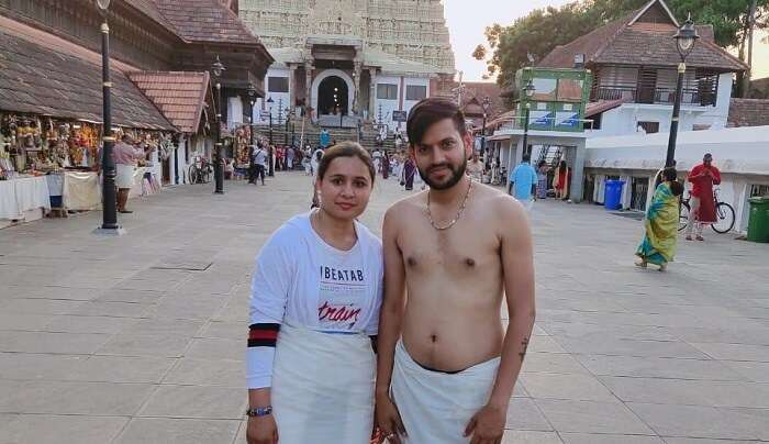 at the meenakshi temple