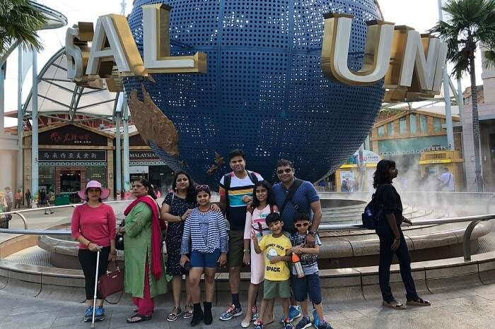 cover - Nitin family trip to Singapore