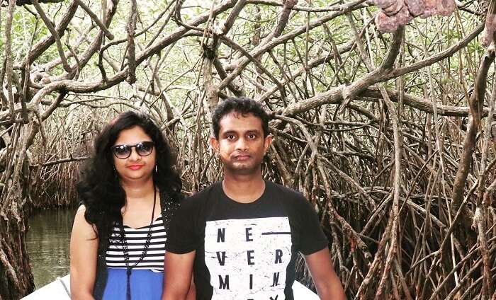 mangrove forest Couple Photo
