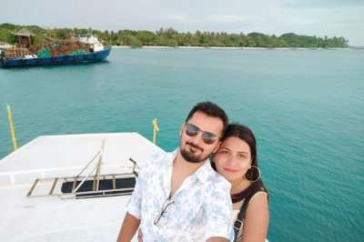 cover - Saurav Maldives trip