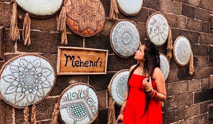visited to the Mehendi art