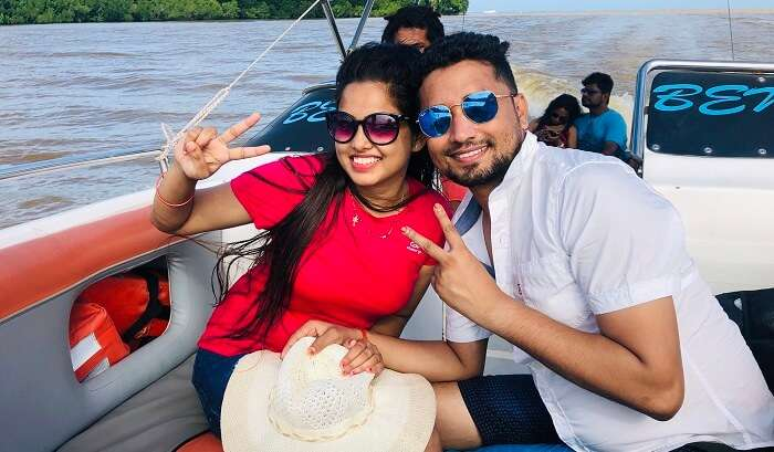 Experiencing Adventure Thrills on boat
